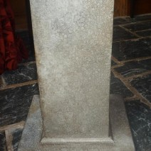 Painted Stone Effect Column