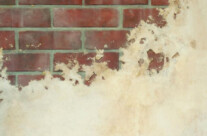 Faux Brick Paint Effect