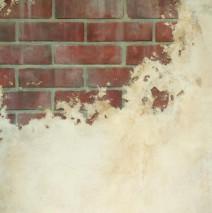 Faux Brick Paint Effect