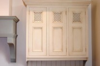 Hand Painted Shabby Chic Kitchen