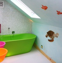 Hand Painted Finding Nemo Mural
