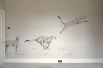Boys Bedroom Painted Mural