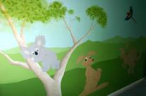 Australian Themed Nursery Mural