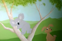 Australian Themed Nursery Mural