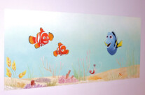 Hand Painted Nursery Murals