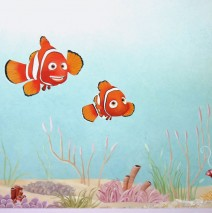 Hand Painted Nursery Murals