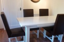 Hand Painted Table and Chairs Pontefract