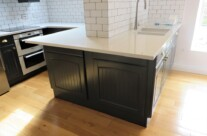 Dark Grey Painted Kitchen Units