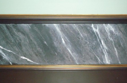 Hand Painted Marble Effect Walls North East Imaginative