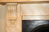 Faux Marble Fireplaces