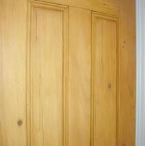 Faux Wood Effect Pine Door
