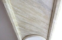 Faux Marble Paint Effect Arch