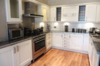 Hand Painted Beech Kitchen