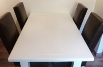 Hand Painted Kitchen Table and Chairs
