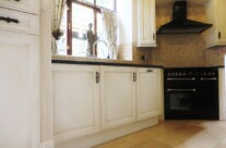 Hand Painted Kitchen with Paint Effect