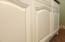 Hand Painted Laminate Kitchen