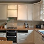 Hand Painted Laminate Kitchen