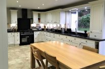 Painted Oak Kitchen Units