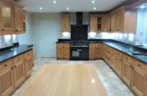 Painted Oak Kitchen Units