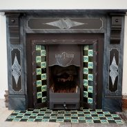 Marble Effect Paint for Slate Fire Surround