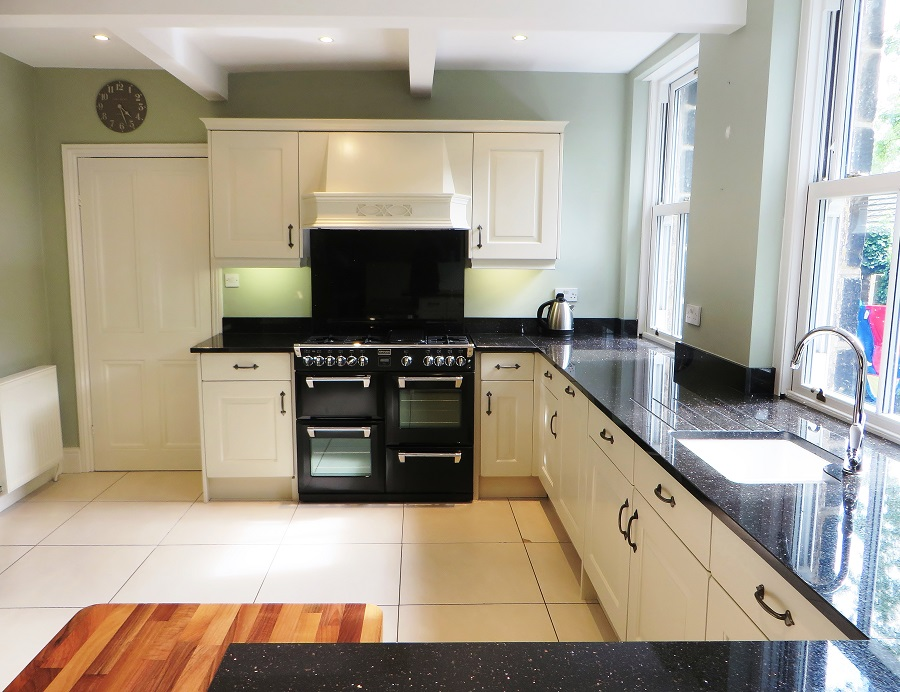 Hand painted kitchen Leeds - quite the transformation!