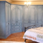 Hand Painted Wardrobes with Specialist Paint Effect – Blog by Lee Simone