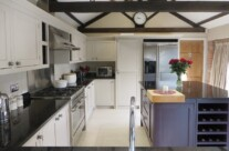 Hand Painted Oak Kitchen, Wetherby