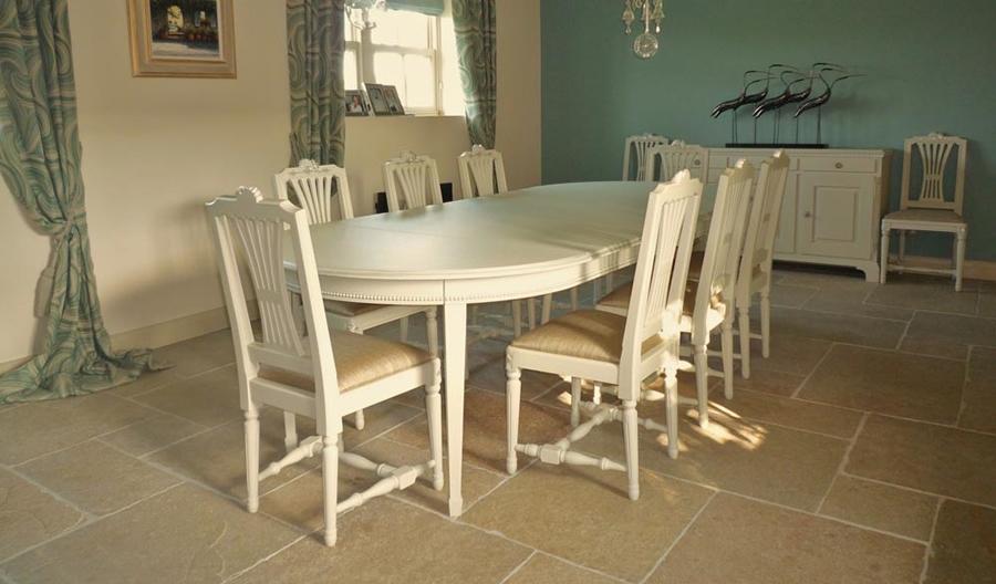 hand painted dining room furniture yorkshire imaginative interiors