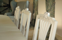 Hand Painted Dining Room Furniture