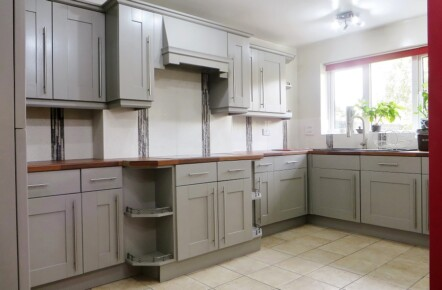 Grey Hand Painted Kitchen