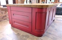 Hand Painted Kitchen Island Calderdale