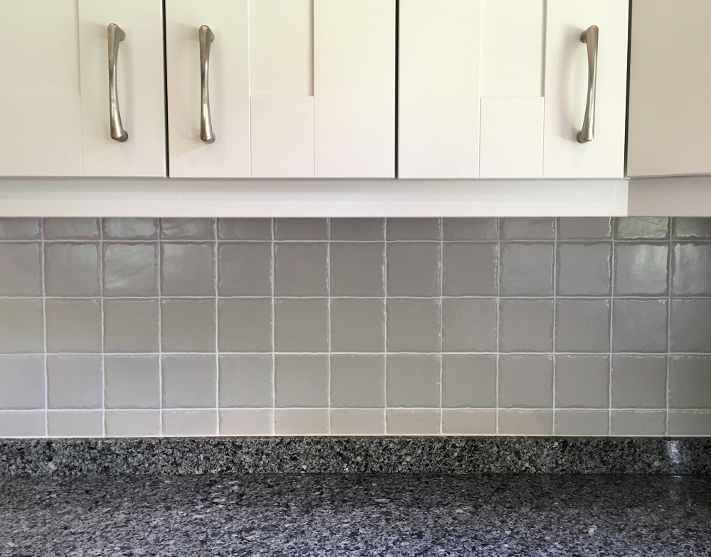 The new look painted tiles