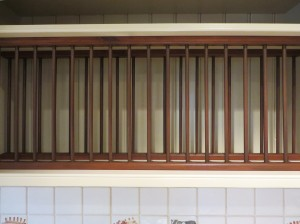 Making the plate rack a feature