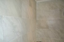 Marble Effect Bathroom Walls