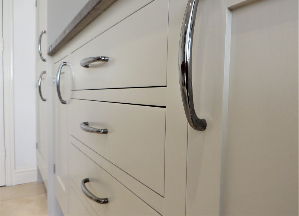 Close up showing the smooth painted finish and attention to detail - no bumps, hairs, runs or imperfections