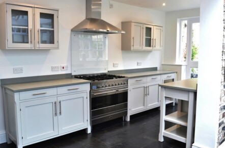 Painted 'Ikea' Kitchen York