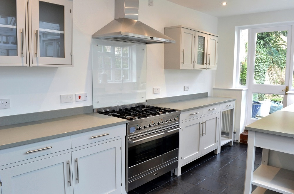 Hand painted 'Ikea' kitchen - the finished transformation
