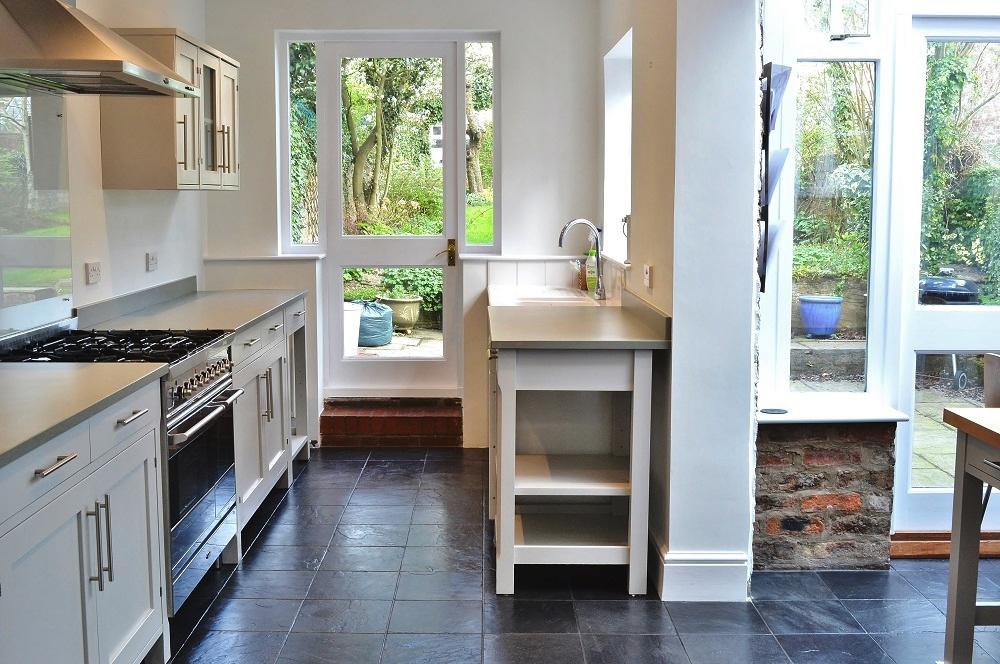 Painted \'Ikea\' Kitchen, York Yorkshire - Imaginative Interiors