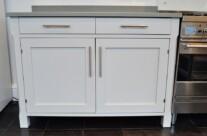 Painted 'Ikea' Kitchen