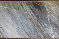 Painted Marble Effect on Slate Fire Surround