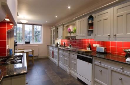 Painted Kitchen Knaresborough