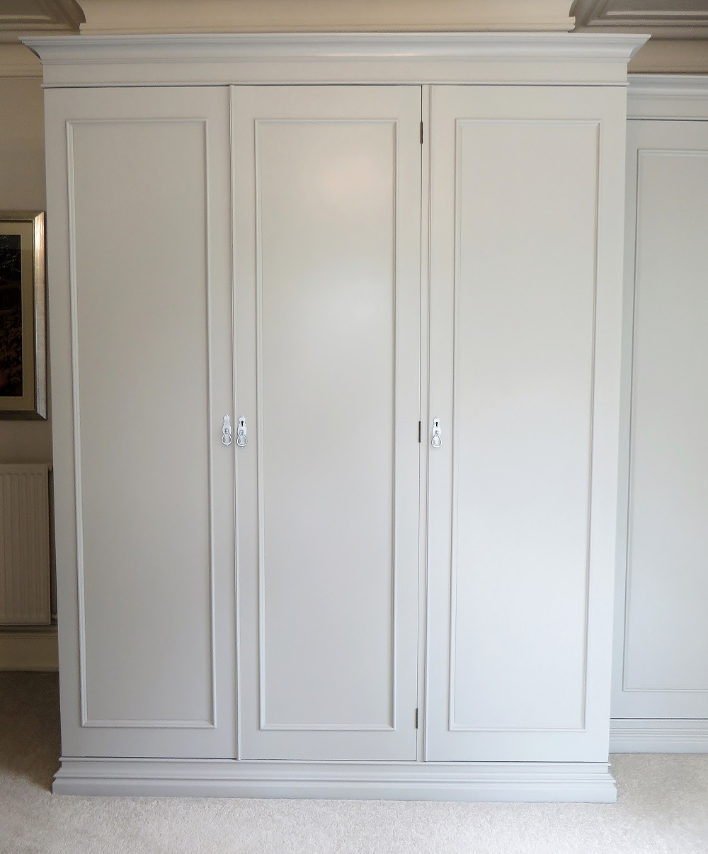 Central Coast Kitchens And Wardrobes Home: Painted Fitted Wardrobes, Thirsk Yorkshire