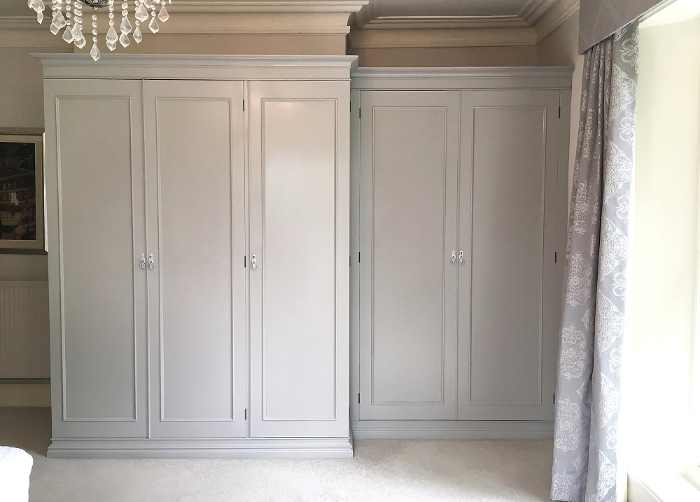 Painted Fitted Wardrobes Thirsk Yorkshire Imaginative