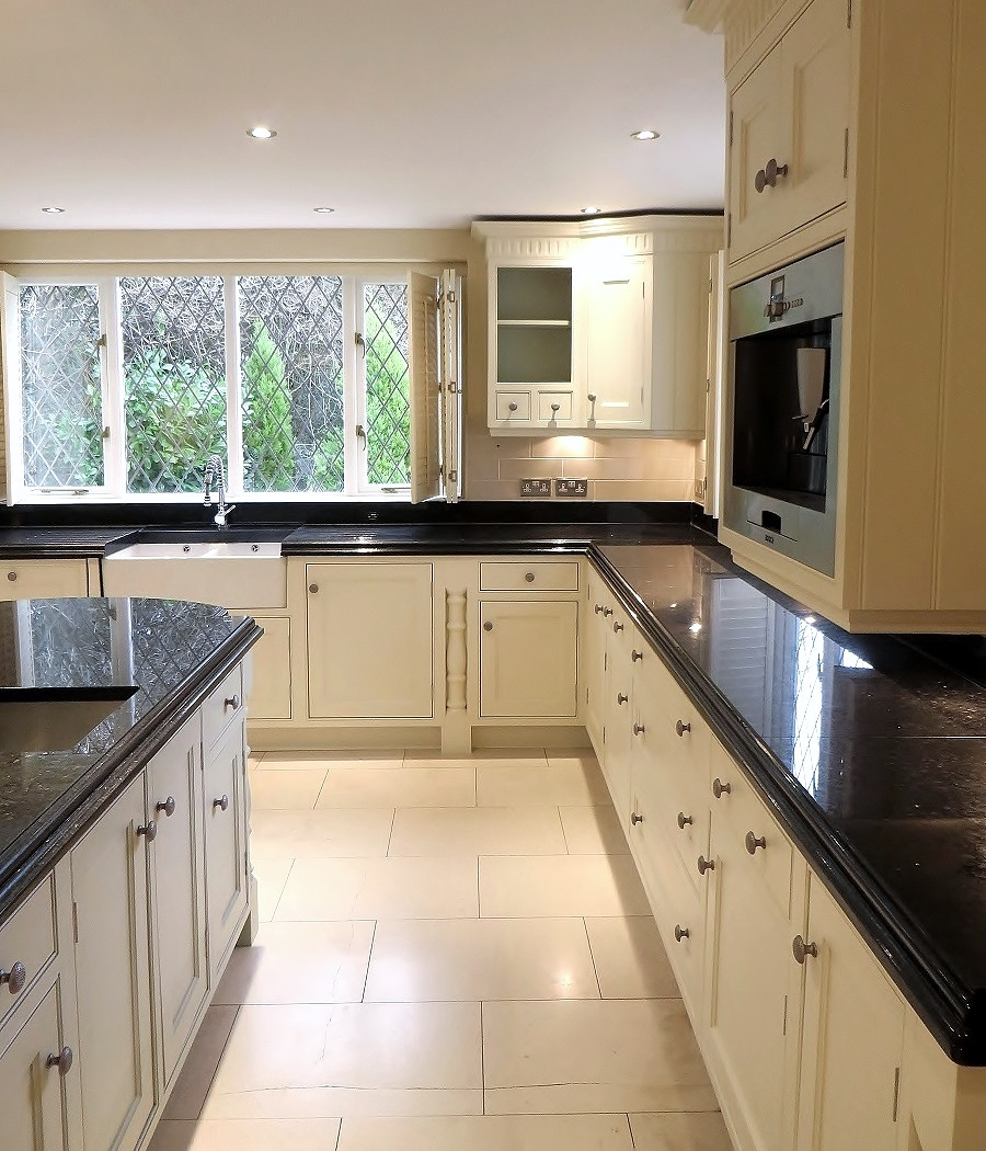 Beautiful Large Repainted Kitchen Zoom In