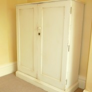 Distressed Hand Painted Cupboard, Harrogate
