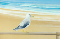 Hand Painted Beach Murals