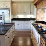 Hand Painted 'Smallbone' Kitchen, Wakefield, West Yorkshire