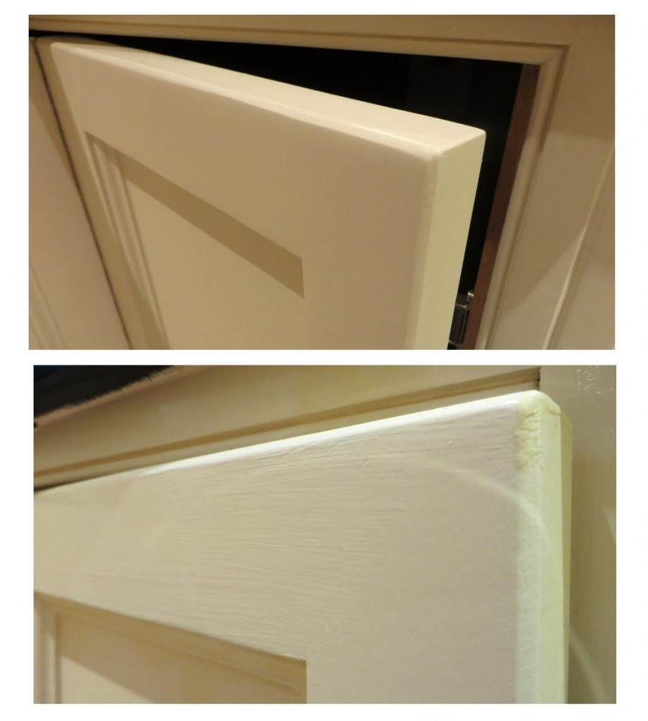 Before and after photos - the bottom pic was the pervios finish, the top one is what I acheived