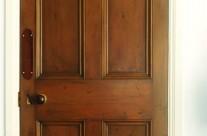 Faux Wood Oak Doors