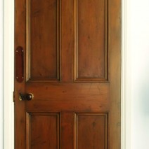 Faux Wood Oak Doors